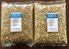 Зеленый кофе Robusta Parchment AА зерно (Индия)    (всего 13 сортов)