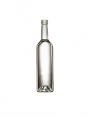 Стеклянная бутылка для вина бесцветная 750 ml, Bartop