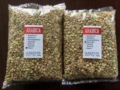 Зеленый кофе Arabica Cherry AA зерно (Индия)    (всего 13 сортов)