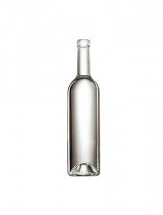 Стеклянная бутылка для вина прозрачная 750 ml, Bartop