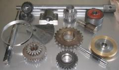 The block of gear wheels for agricultural