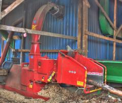 Crushers for wood waste - Berezansky plant of