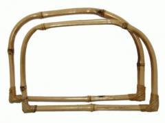 Ручки бамбуковые D-образной формы для женских