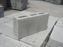 Block concrete narrow (peregorodochny) SB-PR2