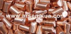Anodes copper