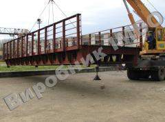 Metal road bridges