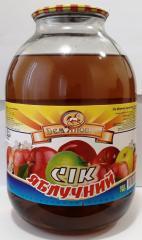 Сок яблочный 3л. ДСТУ