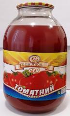 Сок томатный 3л. ДСТУ