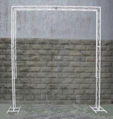 Arch wedding rectangular
