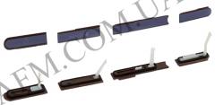 Боковая заглушка Sony C6602 L36h Xperia Z/  C6603/  C6606,   фиолетовая,   полный комплект