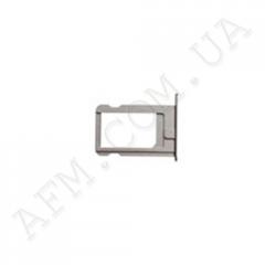 Держатель SIM- карты для iPhone 5 серебро