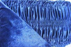 Обивка для гроба стрейч-велюр (О3) темно-синий