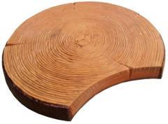 Бетонная плитка для дорожек Срез дерева