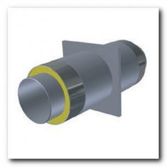 Опора для стальной трубы ППУ 32/90мм в ПЕ/Спиро оболочке