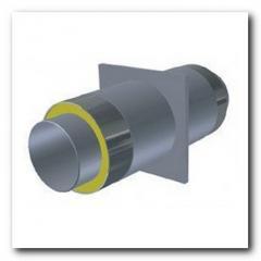 Опора для стальной трубы ППУ 42/110мм в ПЕ/Спиро оболочке