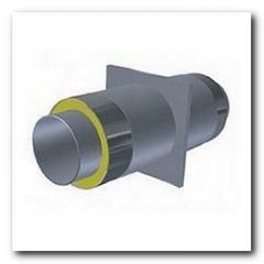 Опора для стальной трубы ППУ 76/140мм в ПЕ/Спиро оболочке