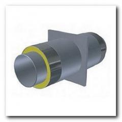 Опора для стальной трубы ППУ 159/250мм в ПЕ/Спиро оболочке