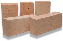 Brick fire-resistant ShA, ShB brands of a straight
