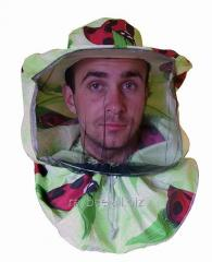 Маска пчеловода лицевая ткань сатин