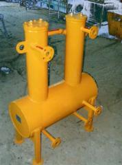 Separators centrifugal for clearing fogs