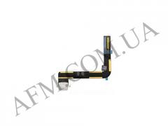 Шлейф (Flat cable) iPad Air с разъемом зарядки белый