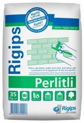 Стартовая гипсовая штукатурка Rigips Perliti для внутренних работ