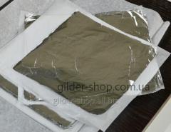 Поталь Китай, серебряная, 16 см*16 см, 100 листов
