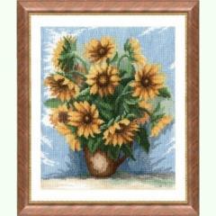 Набор для вышивания крестиком  Цветы 298