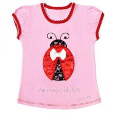 Блуза для девочек+вышивка 010042111в, фуликра