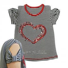 Блуза для девочек+вышивка 010050170в, фуликра