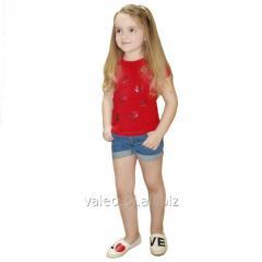 Блуза для девочек+вышивка 010060111в, фулликра
