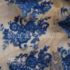 Fabric France Guipure (electro-blue) 5736