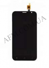 Дисплей (LCD) Fly FS551 с сенсором черный