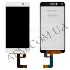 Дисплей (LCD) Huawei Y5 II с сенсором белый