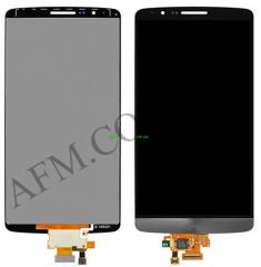 Дисплей (LCD) LG D690 G3 Stylus с сенсором серый оригинал