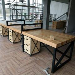 Office furniture under the order