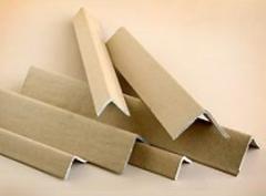Corner protectors made of cardboard