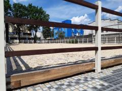Coverings and additives of horse fields, arenas