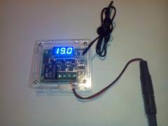 W1209 temperature regulator case