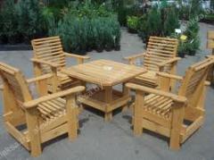 Производство садовой мебели и мебели для дома из