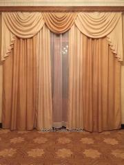 Curtains, curtains, lambrequins