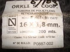 Труба из полиэтилена Orcli