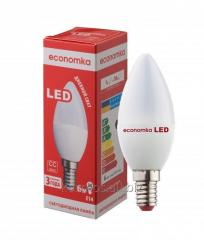 LED lamp of Economka LED CN 6W E14 with the