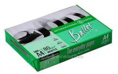 Paper of A4 of Ballet Universal 80gm2, 500 sheets,