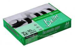 El papel А4 Ballet Universal 80g/m2, 500 hojas, la