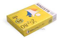 Paper of A4 of Magistr Eco, 75 g/m2, 500 sheets