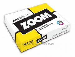 Paper of A4 Zoom (Finland) 75g/sq.m, 500 sheets,