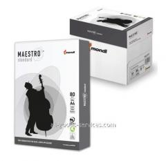 Paper of A4 Maestro Standard (Slovakia) 80 g/m2,