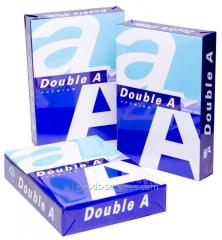 "Paper of A4 ""Double A"""