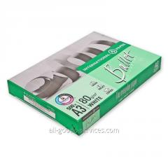 Paper of A3 of Ballet Universal 80gm2, 500 sheets,